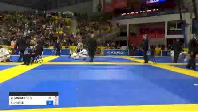 KRISTIN MIKKELSON vs ERIN HERLE 2019 World Jiu-Jitsu IBJJF Championship