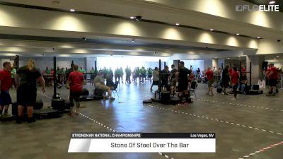 2017 Strongman Nationals Heavyweight Men's Stone Over Bar
