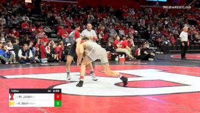 149 lbs Prelims - Mousa Jodeh, Illinois vs Kanen Storr, Michigan