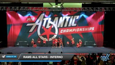 RAMS All Stars - INFERNO [2020 L3 Senior - D2 Day 1] 2020 Mid-Atlantic Championships