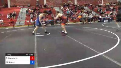 125 kg Consolation - Tommy Mommer, Arizona vs Mikey Bosco, Illinois