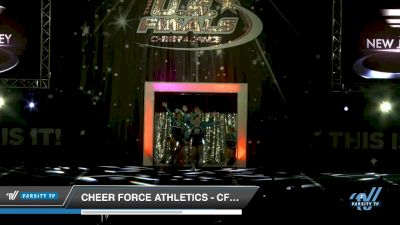 Cheer Force Athletics - CFA Black Ice Queens [2018 Senior Performance Rec 3 Day 1] US Finals: Providence