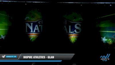 Inspire Athletics - Glam [2021 L3 Junior - Medium Day 1] 2021 Cheer Ltd Nationals at CANAM