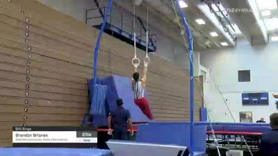 Brandon Briones - Still Rings, Stanford University Mens Gymnastics - 2021 Men's Olympic Team Prep Camp