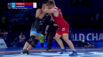 97 kg Final 3-5 - Marcus Worren, Norway vs Morteza Rasoul Alghosi, Iran