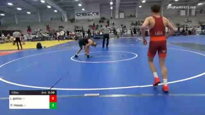 126 lbs Prelims - TYSON MCCULLOUGH, GA vs Ryder Robinson, UT