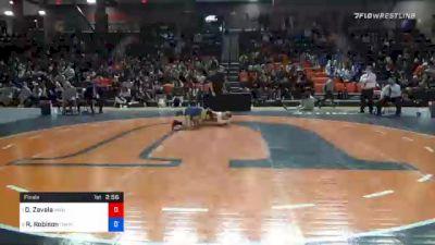 136 lbs Final - Desiree Zavala, Wayland Baptist vs Randi Robison, Campbellsville