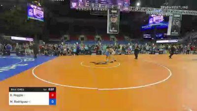 182 lbs Round Of 16 - Dante Roggio, Idaho vs Matthew Rodriguez, Kansas