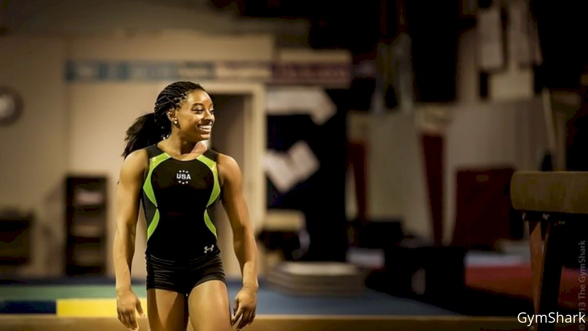 Simone Biles Leaves Bannon's Gymnastix