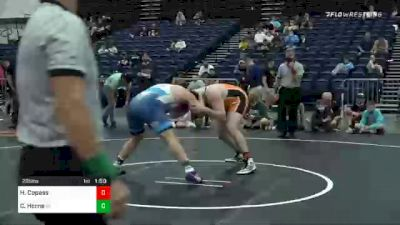285 lbs Final - Hayden Copass, IL vs Chase Horne, GA