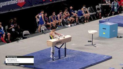 Kai Uemura - Pommel Horse, Lakeshore Academy - 2021 US Championships