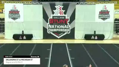 CLUB Championship Game: Oklahoma State University vs Michigan State University