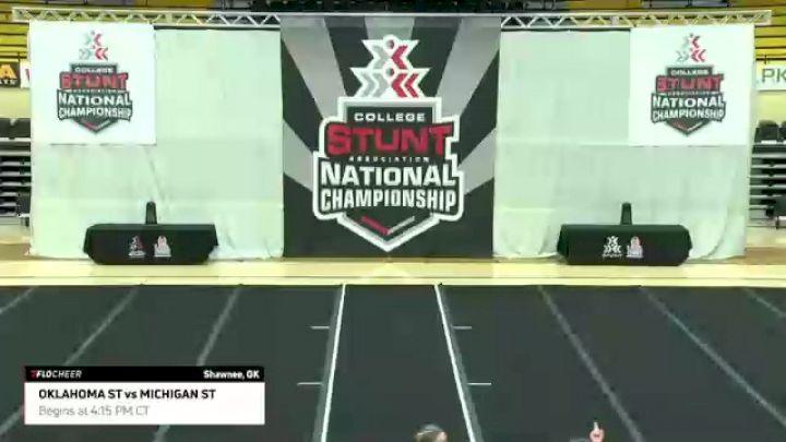 CLUB Championship Game: Oklahoma State University vs Michigan State University