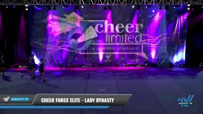 Cheer Force Elite - Lady Dynasty [2021 L2 Junior - Small - B] 2021 Cheer Ltd Open Championship: Trenton