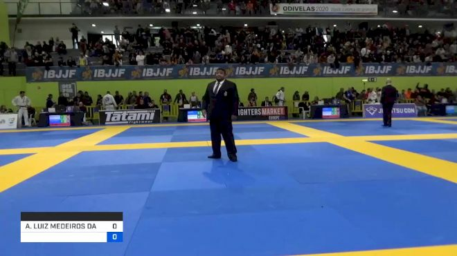 ANDRE LUIZ MEDEIROS DA SILVA vs JORDY ANNA JEAN ANTOON PEUTE 2020 European Jiu-Jitsu IBJJF Championship
