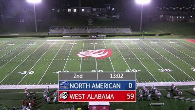 Replay: North American vs West Alabama | Sep 16 @ 7 PM