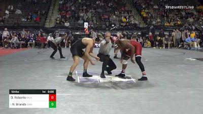 184 lbs Prelims - Darrien Roberts, Oklahoma vs Nelson Brands, Iowa