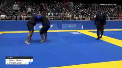 JOHNNATHAN RAFAEL PENA vs JORGE ENRIQUE VALDIVIA 2021 World IBJJF Jiu-Jitsu No-Gi Championship