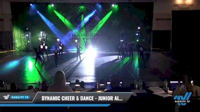 Dynamic Cheer & Dance - Junior All Stars [2021 Junior - Pom - Small Day 2] 2021 CSG Dance Nationals