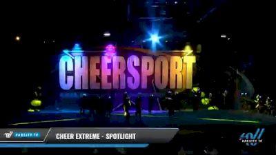 Cheer Extreme - Raleigh - SSX [2021 L4.2 Senior - Medium Day 2] 2021 CHEERSPORT National Cheerleading Championship