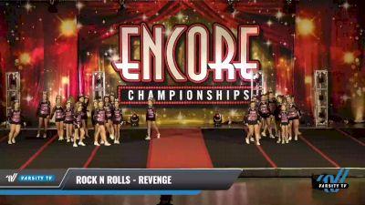 Rock N Rolls - Revenge [2021 L3 Junior - D2 - Medium Day 1] 2021 Encore Championships: Pittsburgh Area DI & DII