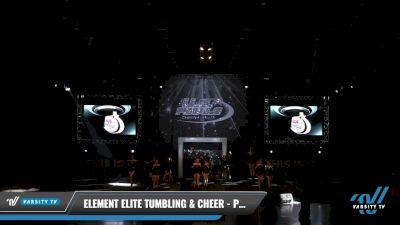 Element Elite Tumbling & Cheer - PLATINUM [2021 L2 Junior - D2 - Medium Day 2] 2021 The U.S. Finals: Louisville