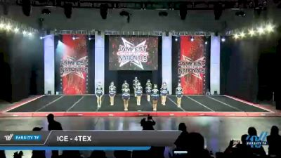 ICE - 4tex [2021 L4 Junior - Small - A Day 1] 2021 JAMfest Cheer Super Nationals