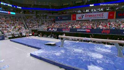 Kara Eaker - Beam, GAGE - 2021 US Championships Senior Competition International Broadcast