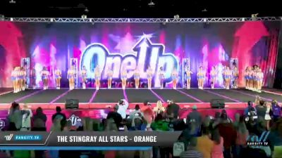 The Stingray Allstars - Marietta - Orange [2021 L6 Senior - Large Day 1] 2021 One Up National Championship