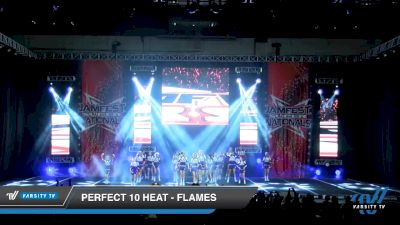 Perfect 10 Heat - Flames [2020 L2 Youth - D2 - Small - B Day 2] 2020 JAMfest Cheer Super Nationals