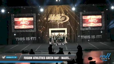 Fusion Athletics Green Bay - Majesty [2021 L1.1 Youth - PREP - D2 - B Day 1] 2021 The U.S. Finals: Louisville