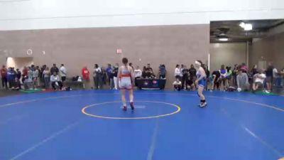 53 kg Quarterfinal - Ronna Heaton, WI vs Taylin Long, IL