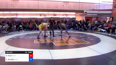 125 kg Quarterfinal - Garrett Ryan, Sunkist Kids Wrestling Club vs Dominique Bradley, Sunkist Kids Wrestling Club