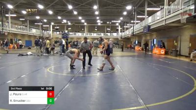3rd Place - Jack Peura, Clarion vs Riley Smucker, Cleveland State