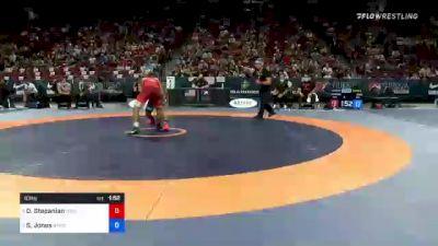 63 kg Round 2 - David Stepanian, New York Athletic Club vs Sam Jones, New York Athletic Club