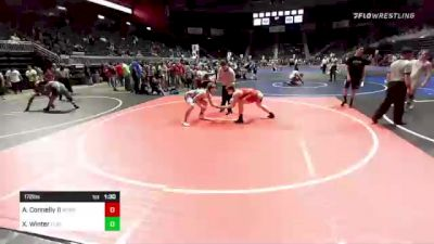 172 lbs Quarterfinal - Arthur Connelly II, West End WC vs Xan Winter, Flathead Valley WC