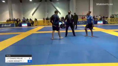 JORGE F CHAVEZ POLACK vs JACOB MARK BENNETT 2021 American National IBJJF Jiu-Jitsu Championship