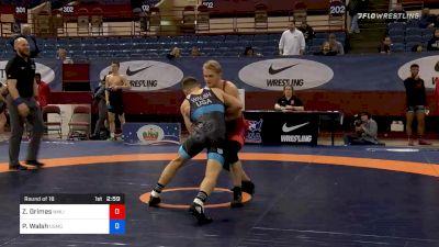77 kg Prelims - Zachary Grimes, NMU-OTS vs Peyton Walsh, Marines