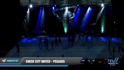 Cheer City United - PEGASUS [2021 L2 Junior - D2 - Medium Day 1] 2021 The U.S. Finals: Pensacola