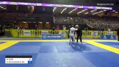 MOISE SURI vs RODRIGO DE OLIVEIRA R. MACHADO 2021 Pan Jiu-Jitsu IBJJF Championship