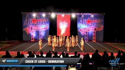 Cheer St Louis - Domination [2021 L2 Junior - Medium Day 3] 2021 ASCS: Tournament of Champions & All Star Prep Nationals