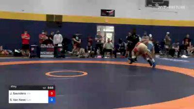65 kg Consi Of 8 #2 - Joshua Saunders, Titan Mercury Wrestling Club (TMWC) vs Shayne Van Ness, Blairstown Wrestling Club