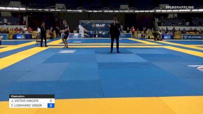 JAN VICTOR ZANDER vs FREDERIC LEONHARD VOSGRÖNE 2019 World IBJJF Jiu-Jitsu No-Gi Championship