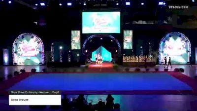 Boca Braves [2020 Show Cheer 2 - Varsity - Medium Day 2] 2020 Pop Warner National Cheer & Dance Championship