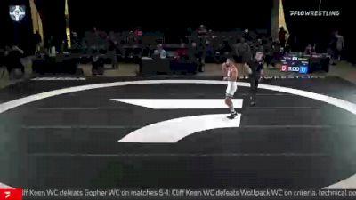 57 kg 3rd Place - Vitali Arujau, Spartan Combat RTC vs Darian Cruz, Wolfpack RTC