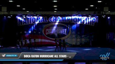 Boca Raton Hurricane All Stars - Great White Sharks [2021 L4 Senior - D2 Day 2] 2021 ACP: Tournament of Champions