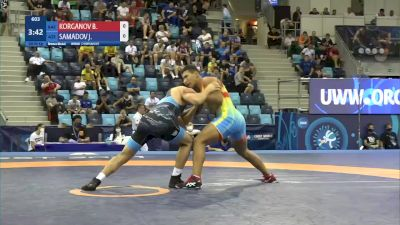 80 kg Final 3-5 - Beibit Korganov, Kazakhstan vs Joju Samadov, Azerbaijan