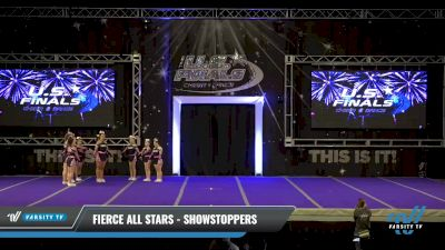 Fierce All Stars - Showstoppers [2021 L2 - U17 Day 2] 2021 The U.S. Finals: Ocean City