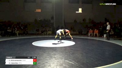 126 lbs Final - Collin Wickramaratna, Cherokee vs Nicky Cabanillas, Depaul