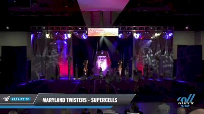 Maryland Twisters - Supercells [2021 L6 Junior Day 2] 2021 Queen of the Nile: Richmond